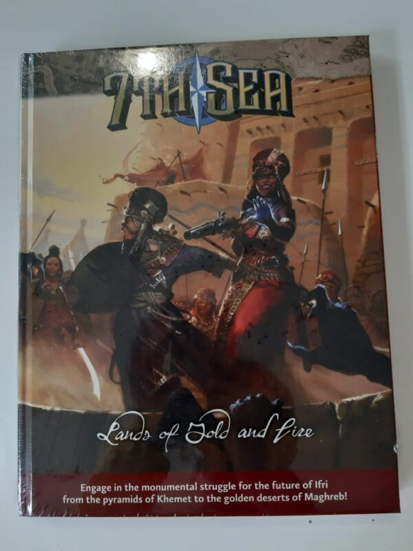 7th Sea – Lands of Gold and Fire